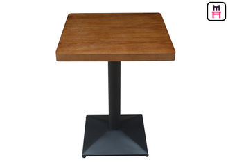 4cm Thickness Melamine - Faced Chipboard Dining Table dengan Safe Round Corner
