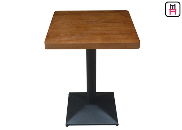 4cm Thickness Melamine - Faced Chipboard Dining Table dengan Safe Round Corner pemasok